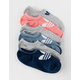 ADIDAS 6 Pack Originals Trefoil Womens No Show Socks