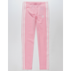 ADIDAS 3 Stripes Pink Girls Leggings