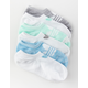 ADIDAS 6 Pack Originals Trefoil Multi Womens No Show Socks