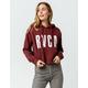 RVCA Freshman Crop Womens Sweatshirt