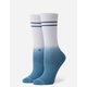 STANCE Uncommon Dip Blue Womens Crew Socks