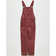 BILLABONG Follow Me Vintage Plum Girls Denim Overalls