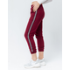 SKY AND SPARROW Side Stripe Womens Jogger Pants