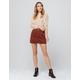 SKY AND SPARROW Corduroy Mini Skirt