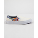 VANS Sparkle Flame Rainbow Girls Slip-On Shoes