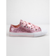 CONVERSE Chuck Taylor All Star Big Eyelets Ox Pink Girls Low Top Shoes