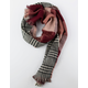 Plaid Oblong Womens Scarf