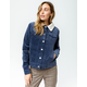 RIP CURL On Cord Womens Sherpa Corduroy Jacket
