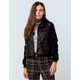 SKY AND SPARROW 2-Fer Faux Leather Womens Jacket