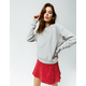 CHAMPION Life Reverse Weave Oxford Gray Womens Sweatshirt