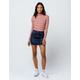 IVY & MAIN Dark Wash Denim Mini Skirt