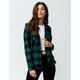 DESTINED Hooded Hunter Womens Flannel Shirt