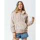 BILLABONG Cozy For Keeps Half Zip Coconut Shell Womens Hoodie