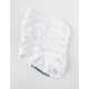 CONVERSE 6 Pack Solid White Womens Ankle Socks