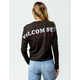 VOLCOM Fading In Womens Crop Tee