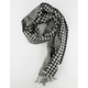 Checkered Oblong Womens Scarf