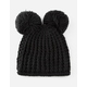 Double Pom Womens Beanie