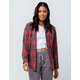 HURLEY Kara Womens Flannel Shirt
