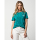 VANS x Tillys Green Cloud Womens Tee
