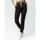SKY AND SPARROW Cozy Stripe Waist Womens Jogger Pants