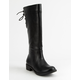 SODA Tall Black Girls Riding Boots