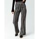 IVY & MAIN Geo & Stripe Print Womens Wide Leg Pants