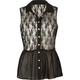 ALI & KRIS Lace Chiffon Womens Shirt