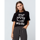 RIPPLE JUNCTION Riverdale Stay Weird Womens Crop Tee