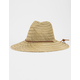 BRIXTON Bells Tan Fedora Straw Hat