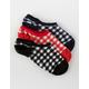 FULL TILT 3 Pack Gingham Womens Socks