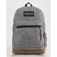 JANSPORT Right Pack Digital Edition Laptop Gray Heathered 600D Backpack