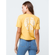 IMPERIAL MOTION Peace Womens Crop Tee