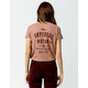 IMPERIAL MOTION Warrant Womens Crop Tee