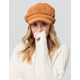 DAVID AND YOUNG Chenille Mustard Womens Cabby Hat