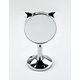 DANIELLE CREATIONS Cat Ear Silver Mini Stand Mirror
