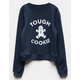 SUB_URBAN RIOT Tough Cookie Girls Sweatshirt