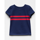 FULL TILT Navy Girls Tee