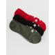 CONVERSE 3 Pack Star Womens Socks