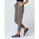 IVY & MAIN Plaid Paperbag Waist Womens Trouser Pants