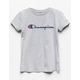 CHAMPION Heritage Gray Girls Tee