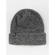 ETHIKA Thermal Knit Gray Mens Beanie