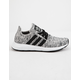 ADIDAS Swift Run Gray & Black Boys Shoes