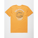 RIP CURL Salt Washed Gold Mens T-Shirt