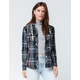 RIP CURL Sunset Spell Womens Hooded Flannel Shirt