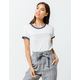 RVCA Double Vision Womens Ringer Tee