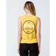 RVCA Leave Me Alone Womens Muscle Tank Top