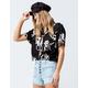 RVCA Voila Womens Crop Shirt