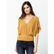 O'NEILL Turner Gold Womens Top
