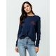 RVCA Oblow Rose Womens Tee