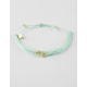 PURA VIDA Malibu Gold & Blue Bracelet